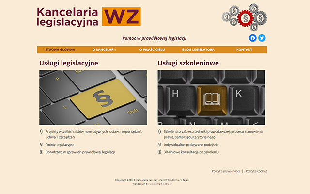 Kancelaria legislacyjna WZ